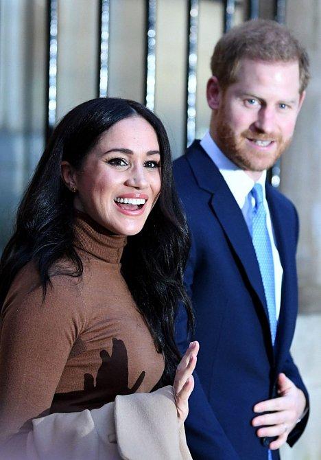 Meghan Markle a prince Harry doufali, že v Kalifornii najdou klid a soukromí.