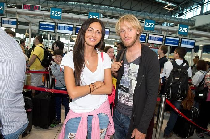Eliška Bučková s Jakubem Vágnerem působili jako ideální pár.
