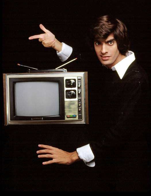 Davidovo první vystoupení vtelevizi v roce 1977.