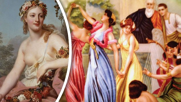 Římské slavnosti Floralia byly prosyceny erotickou atmosférou.