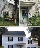 Sousedi opravili dům osamělého učitele. Samozřejmě zdarma.