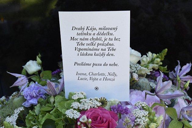 vzkaz rodiny Gottových na hrobce