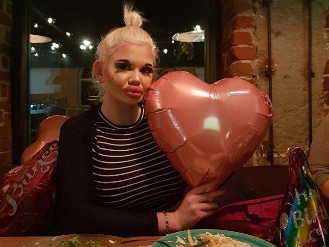 Andrea Ivanova se sama nazývá lidskou Barbie.