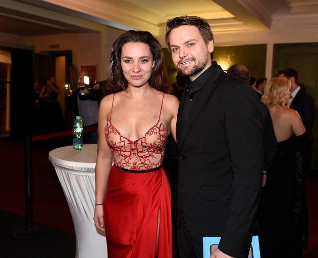 Josef Vágner se svou snoubenkou.