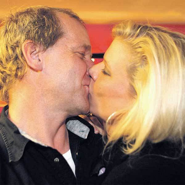 David Koller s manželkou Sylvou