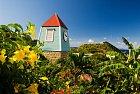 Architektura na ostrově je romantická.
