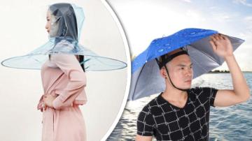 Sbírka nejpodivnějších deštníků!