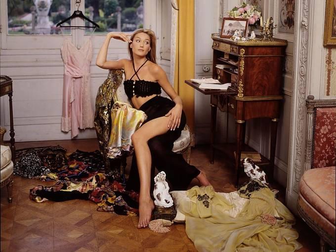 Carla Bruni vyvázla ze vztahu s Mickem bez těhotenství.