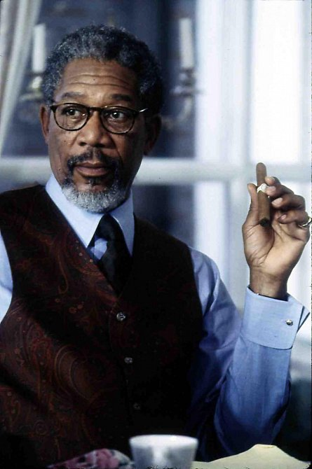 Morgan Freeman je legenda.