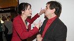 Hereččiným prvním manželem a otcem jejího syna Toníka je režisér Petr Kracik.