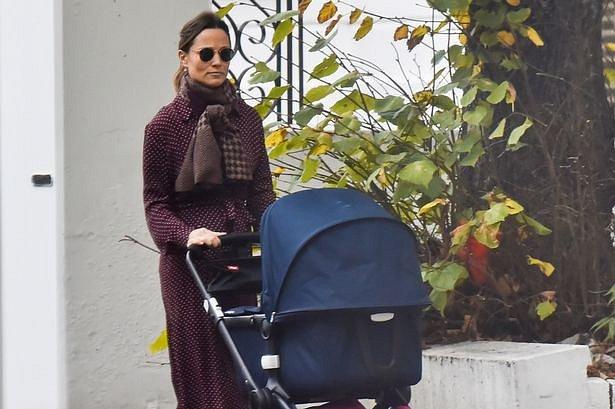 Pippa Middleton a novorozený syn Arthur Michael