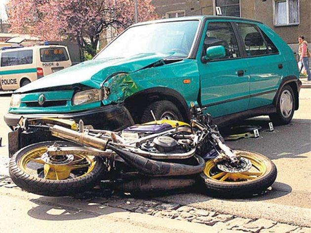 Místo nehody