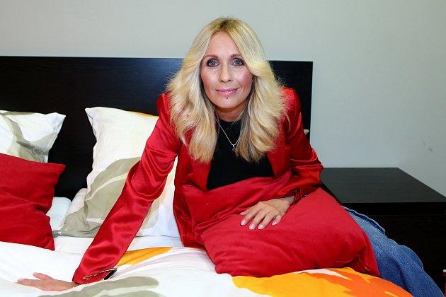 Tereza Pergnerová okusila pohodlnou postel…