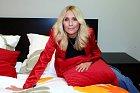 Tereza Pergnerová okusila pohodlnou postel...