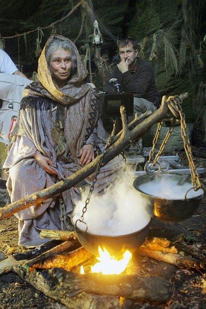 Uměla jako jedna zmála opravdu bravurně zahrát čarodějnice.