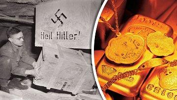 Bedny plné pokladů. Nato si nacisté potrpěli.