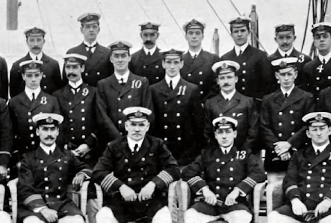 Posádka Titanicu.