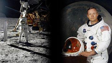 Ve věku 82 let zemřel americký astronaut Neil Armstrong, první člověk na Měsíci.