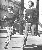 25 let: SNicholasem Cucciou (vlevo) vytvořili ve30. letech artistické duo.