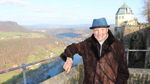 Karel Gott na pevnosti Königstein