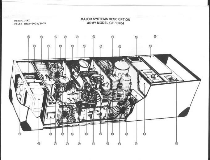 Nákres Titorova stroje času.