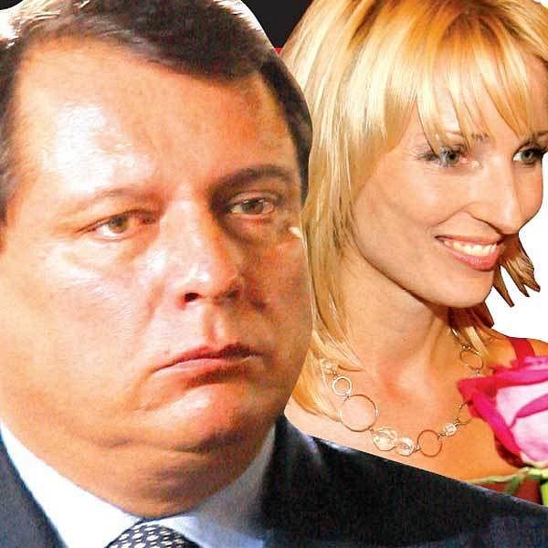 Jiří Paroubek a Petra Kováčová