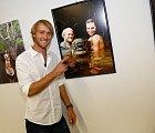 Jakub Vágner ukazuje na svou oblíbenou fotku.