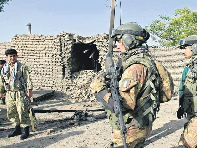 Vojáci v Afganistánu