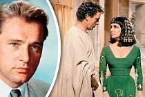 Osudová láska mezi Richardem aElizabeth vznikla díky velkofilmu Kleopatra (1963).