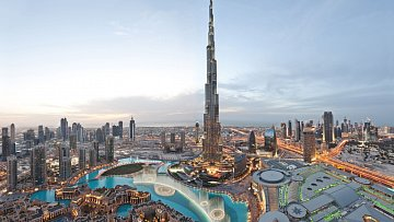 Panaromata v Dubaji