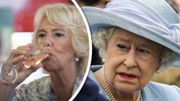 královna ALžběta a Camilla
