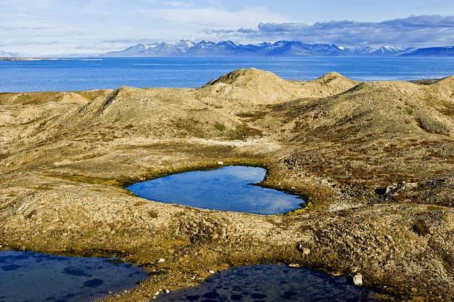 Jezero ve tvaru srdce, Norsko