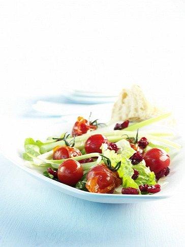 Rajčatový salát, pokud chcete něco opravdu lehkého.
