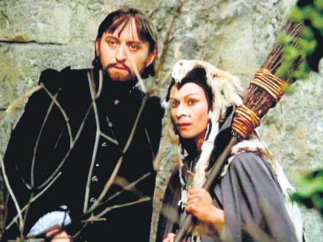 Herečka Jana Andresíková se proslavila rolí čarodějnice společně sRumburakem vseriálu Arabela.
