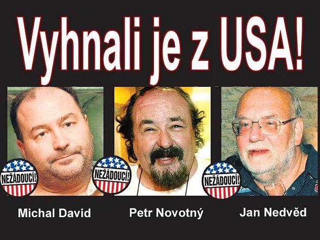 Čeští umělci mají problém s vízem.