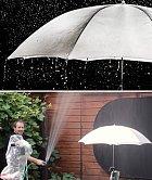 Jak se fotí deštník.