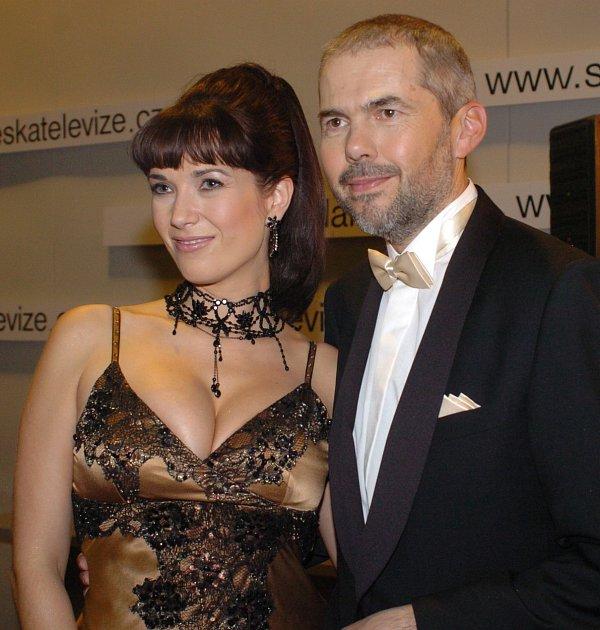 Kostková provokuje také po boku moderátorského kolegy ze StarDance Marka Ebena.