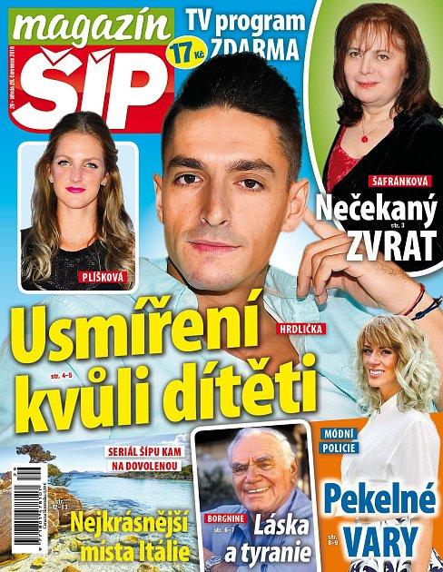 Titulní strana Magazínu Šíp 20.7.2016