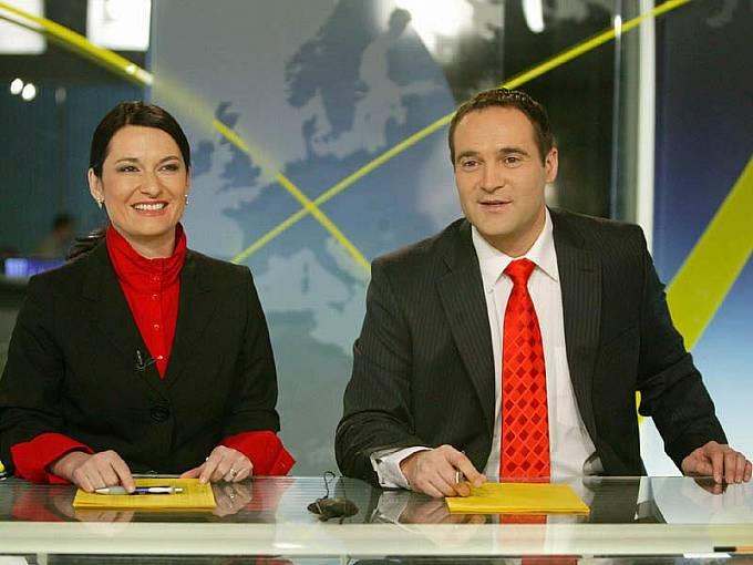 Moderátorská dvojice Čejková - Zuna