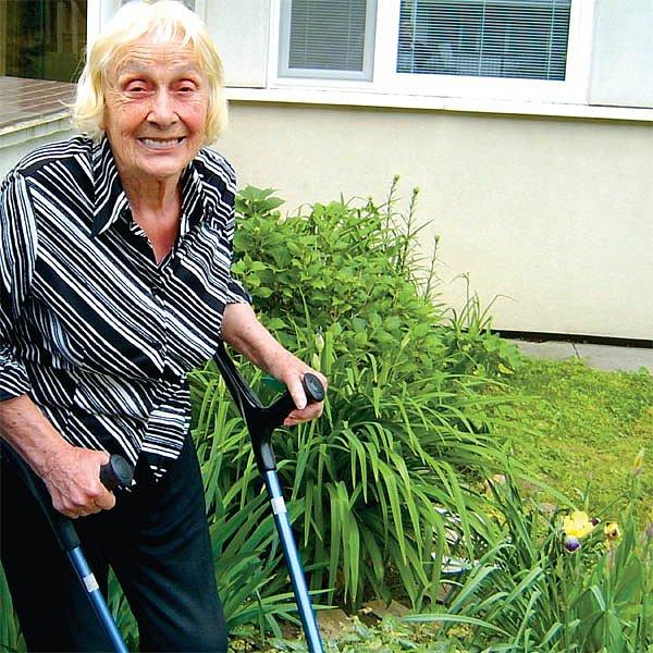 Paní Margit letos v červenci oslaví devadesáté narozeniny.
