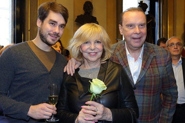 Patrik Děrgel, Hanka Zagorová a Štefan Margita