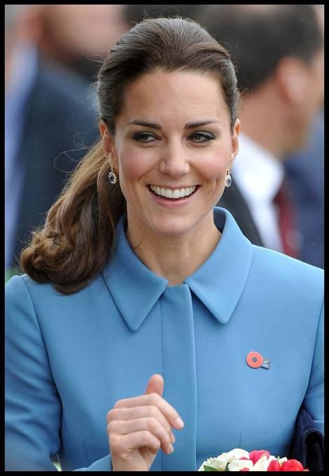 Kate Middleton před dvěma lety s obočím jako ze žurnálu.