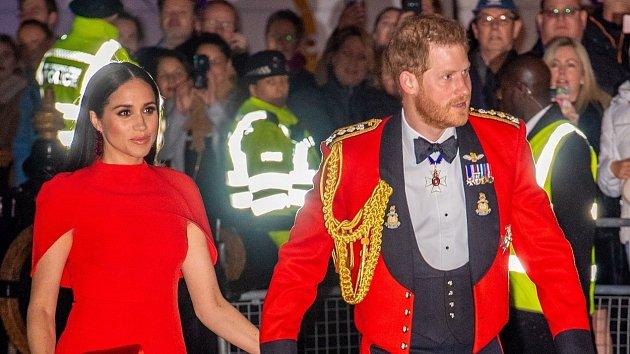 Princ Harry a Meghan
