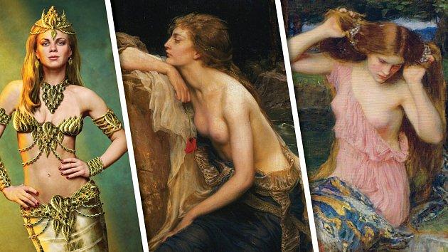 Takhle si Lamii představovali malíři v průběhu staletí.