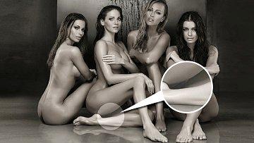 Andrea prostě umí zaujmout, i když kolem vysedávají i jiné nahé krásky.