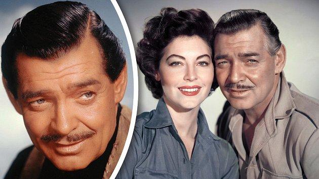 V Mogambu (1953) se potkal s další kráskou, Avou Gardnerovou.