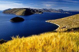 Nejvýše položené jezero na světě Titicaca