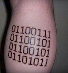 Pro milovníky binárních kódů.