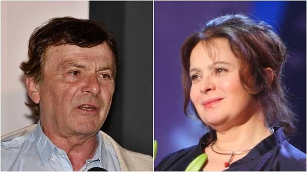 Pavel Trávníček a Libuše Šafránková