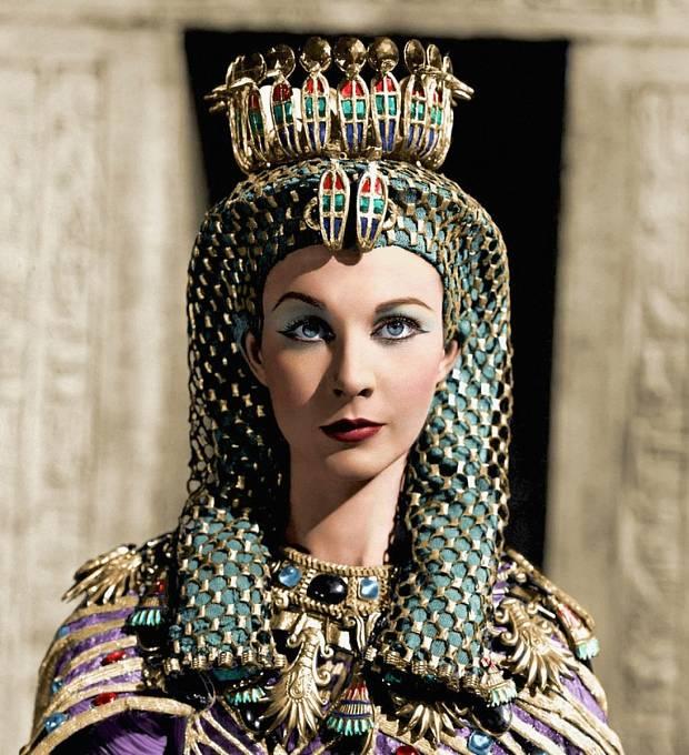 Záběr zfilmu Caesar aKleopatra (1945)